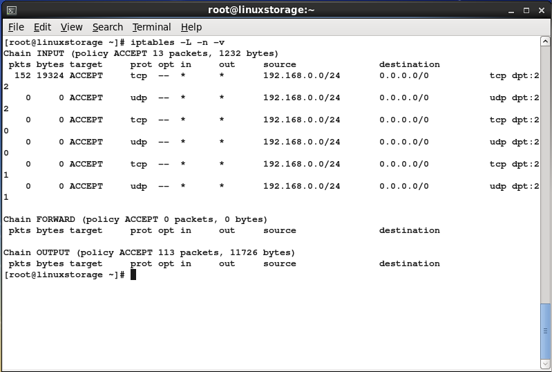 Detailed statistics from iptables | Network NUTS: India's